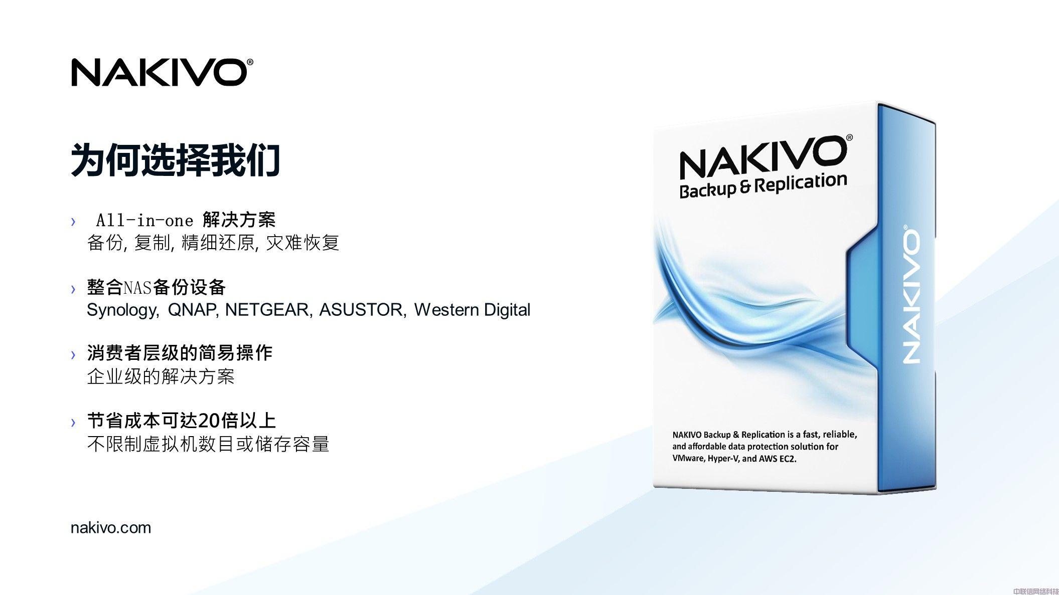 虚拟化备份方案NAKIVO Backup & Replication(图9)